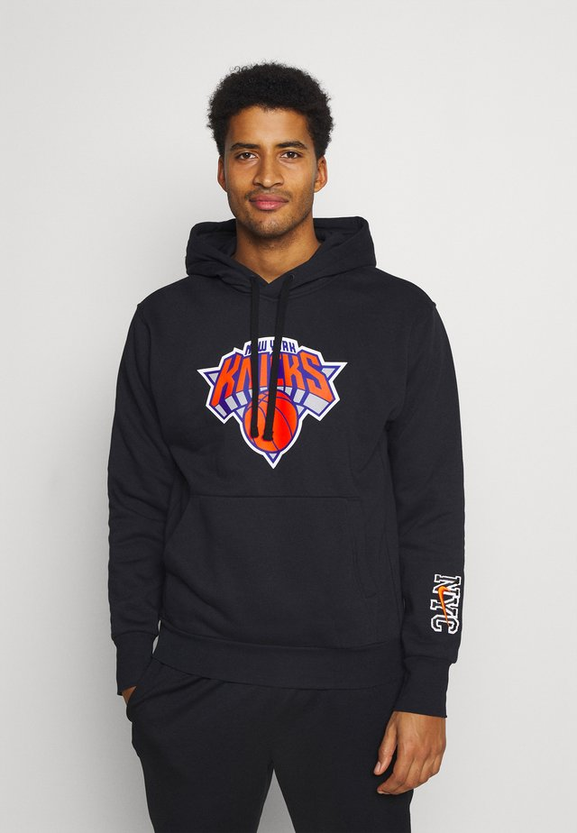 NBA NEW YORK KNICKS CITY EDITION ESSENTIAL HOODIE - Club wear - black