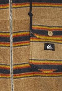 Quiksilver - SUPER SWELL - Fleece jacket - brown - 2