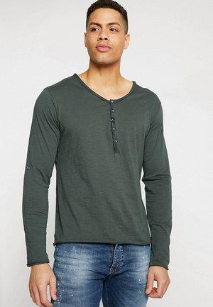 GINGER - Long sleeved top - bottle green