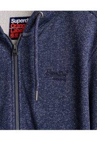 Superdry - CLASSIC  - Zip-up hoodie - atlantic navy birdseye - 2