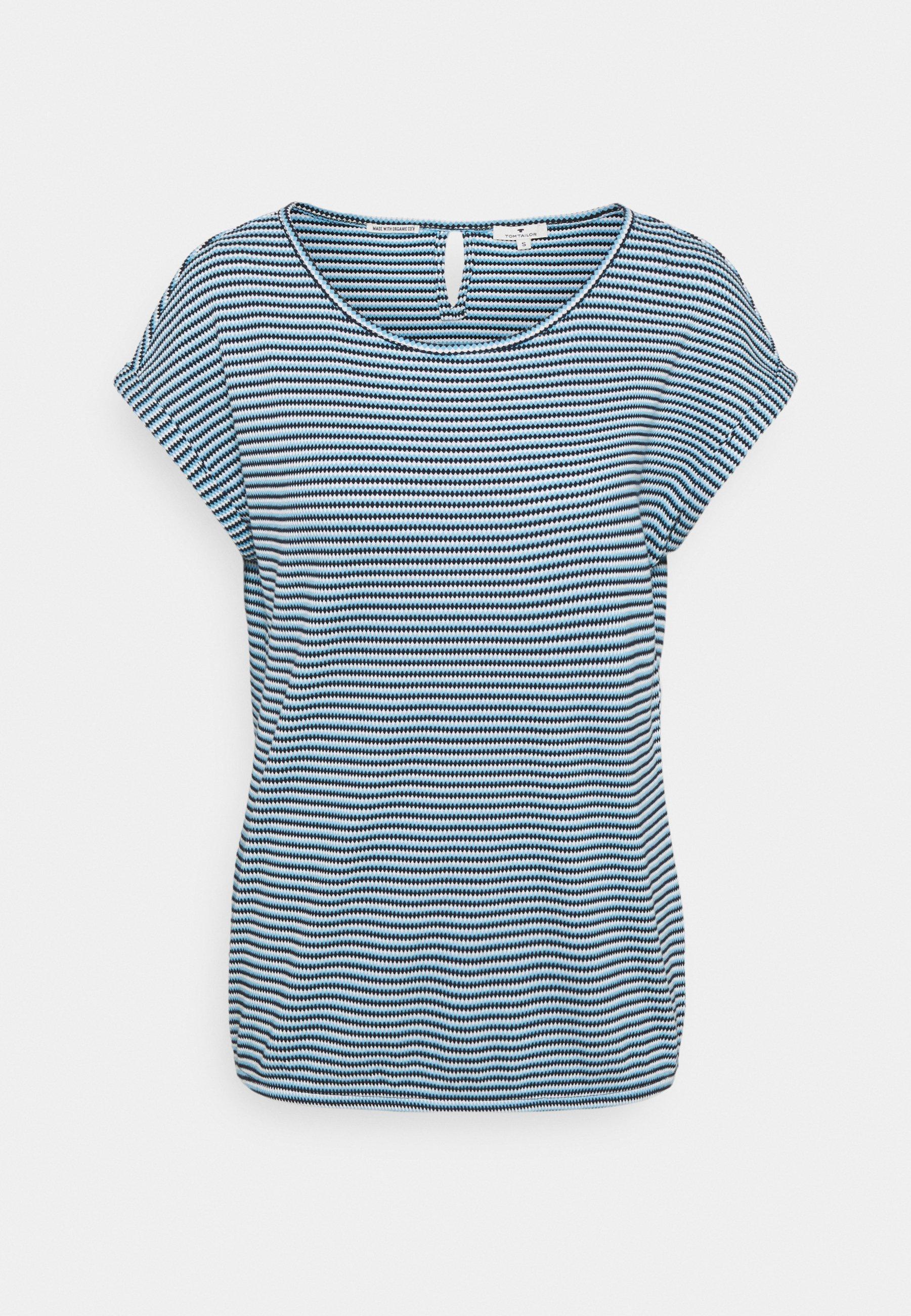 Donna STRUCTURE STRIPE - T-shirt con stampa