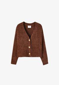 PULL&BEAR - Cardigan - brown - 6