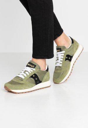 JAZZ VINTAGE - Sneaker low - olive/black