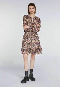 SET - A-line skirt - rose violett - 1