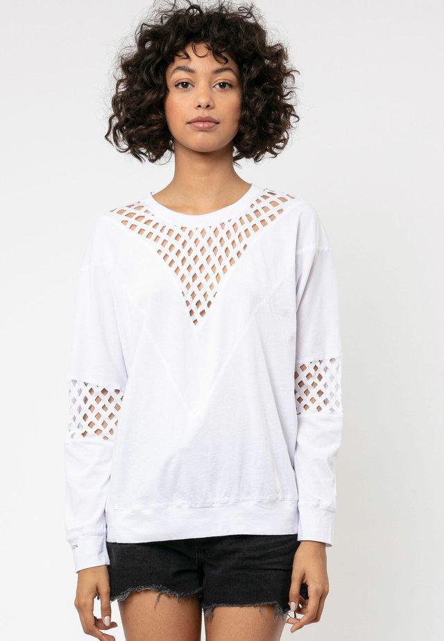 VITAL - T-shirt à manches longues - white