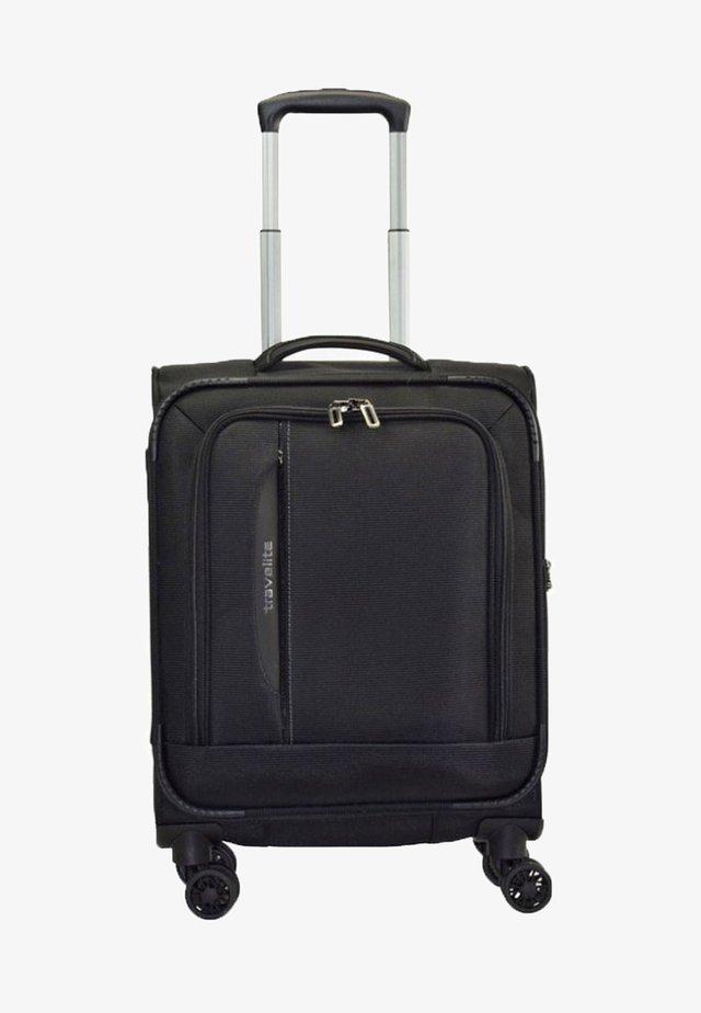 Wheeled suitcase - black
