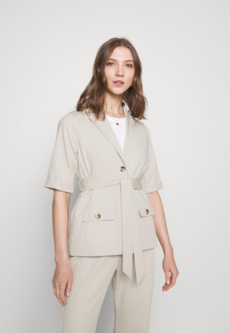 Fashion Union - STEAM - Blouse - taupe