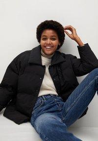 Mango - SAKURA - Winter jacket - schwarz - 5