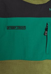The North Face - STEEP TECH JACKET - Fleecová mikina - burnt olive green/black/evergreen - 5