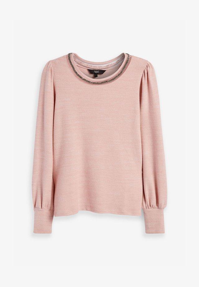 COSY EMBELLISHED - T-shirt basique - pink