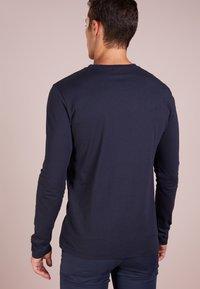 BOSS - TACKS - Long sleeved top - dark blue - 2