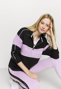 Pink Soda - BREEZE ZIP  - Sweatshirt - black/lilac - 4