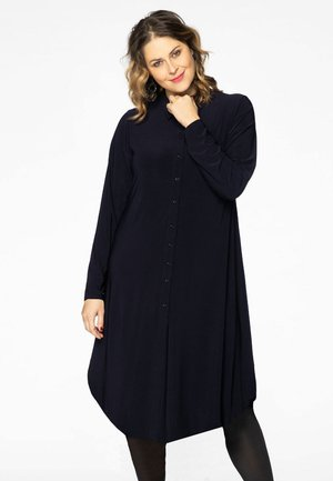Shirt dress - blue