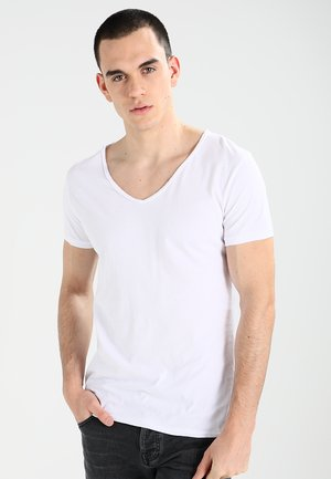 MALIK - Basic T-shirt - white