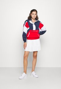 Tommy Jeans - COLORBLOCK LOGO - Windbreaker - deep crimson/multi - 1