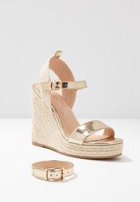 Even&Odd - Sandaler med høye hæler - gold - 7