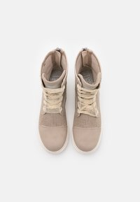 Mustang - Lace-up ankle boots - beige - 4