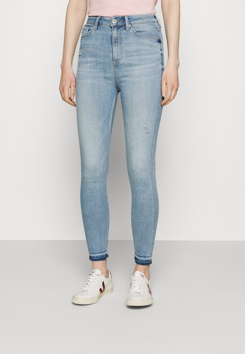 Marks & Spencer London - CARRIE - Jeans Skinny Fit - light blue denim