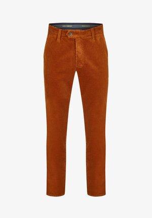GARVEY - Trousers - cognac