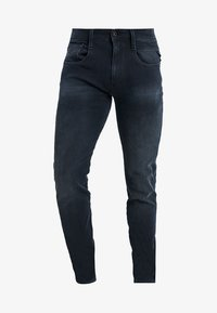 Replay - HYPERFLEX + ANBASS - Slim fit jeans - blue/black denim - 4