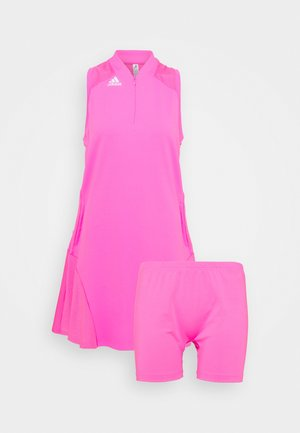 SPORT PERFORMANCE DRESS SET - Jurken - screaming pink