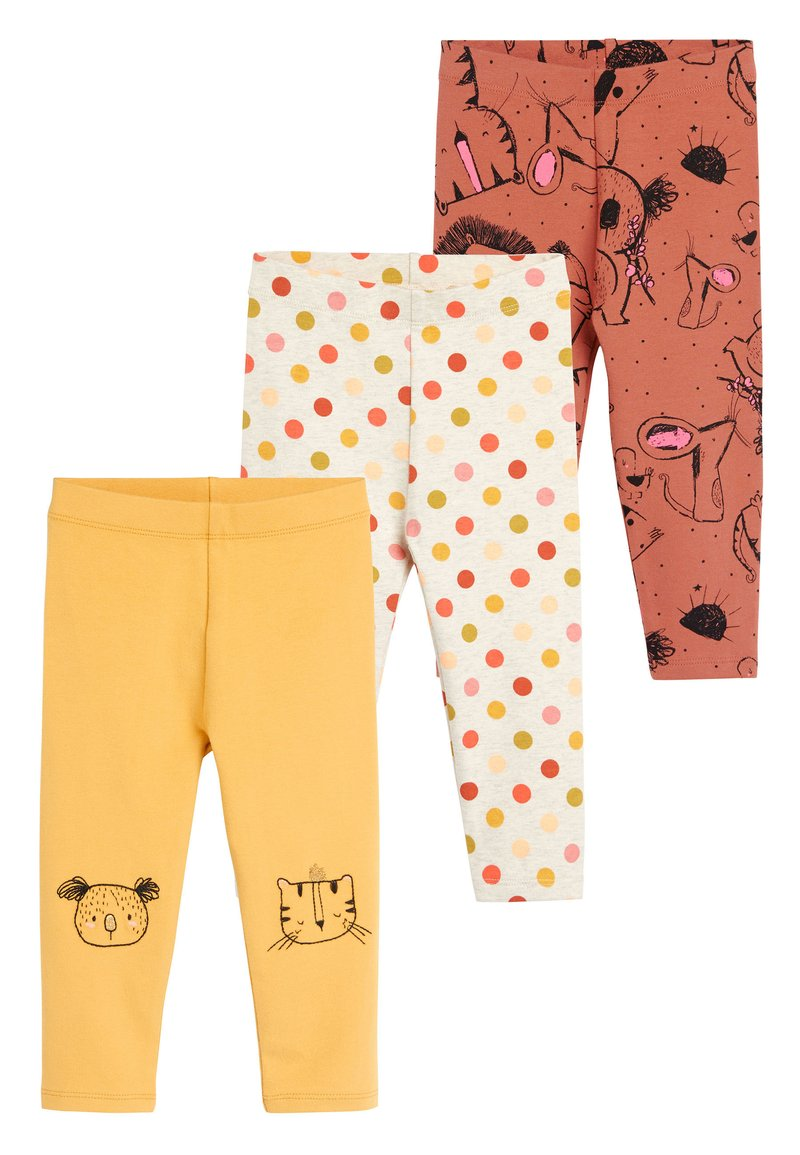 Next - 3 PACK - Leggings - Trousers - yellow