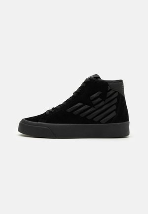 UNISEX - Sneakersy wysokie - triple black