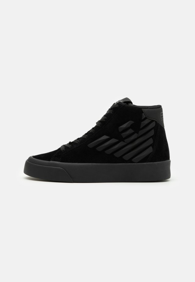 UNISEX - High-top trainers - triple black