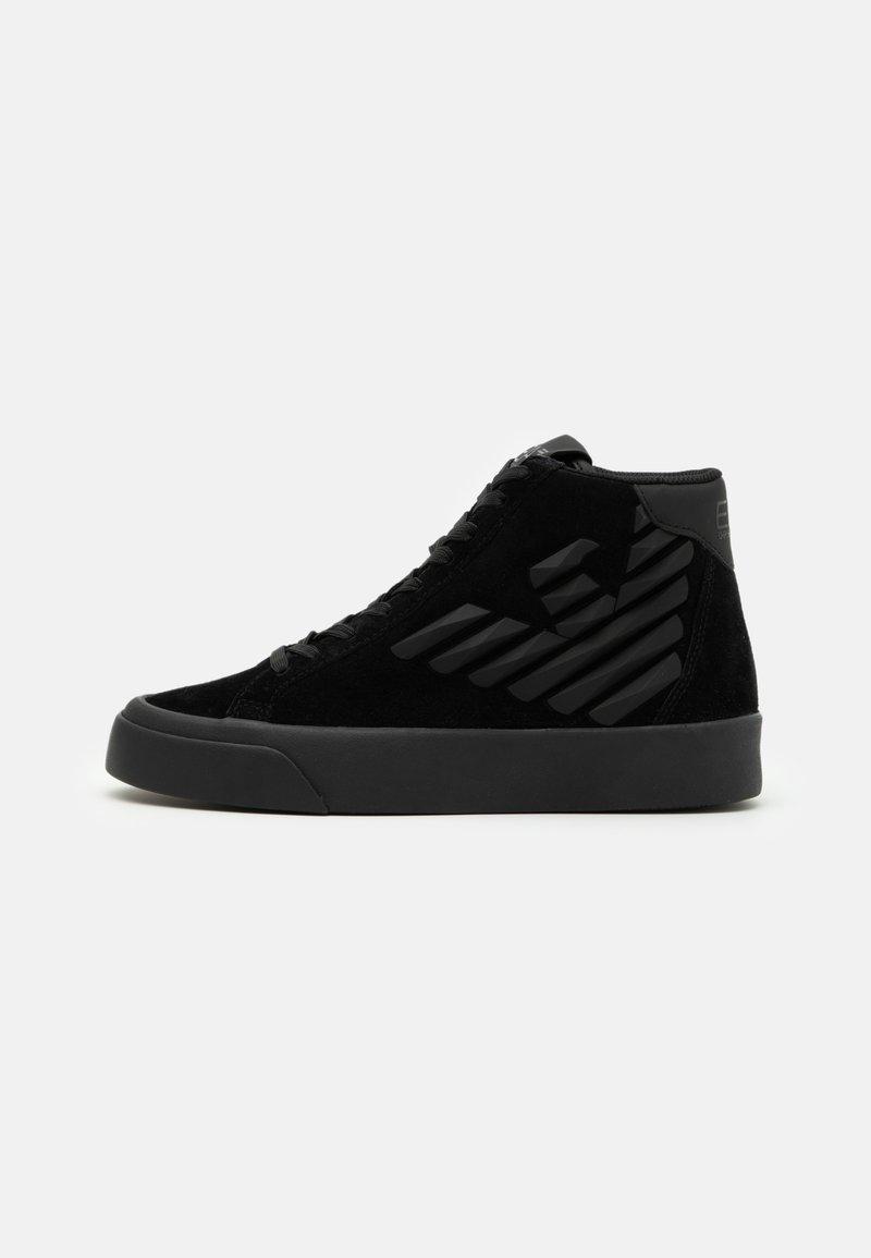 EA7 Emporio Armani - UNISEX - Sneakersy wysokie - triple black