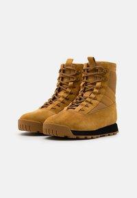 rag & bone - RETRO COMBAT BOOT - Lace-up ankle boots - bourbon brown - 1