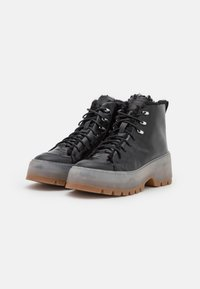 HUGO - JIN HIKING - Lace-up ankle boots - black - 2