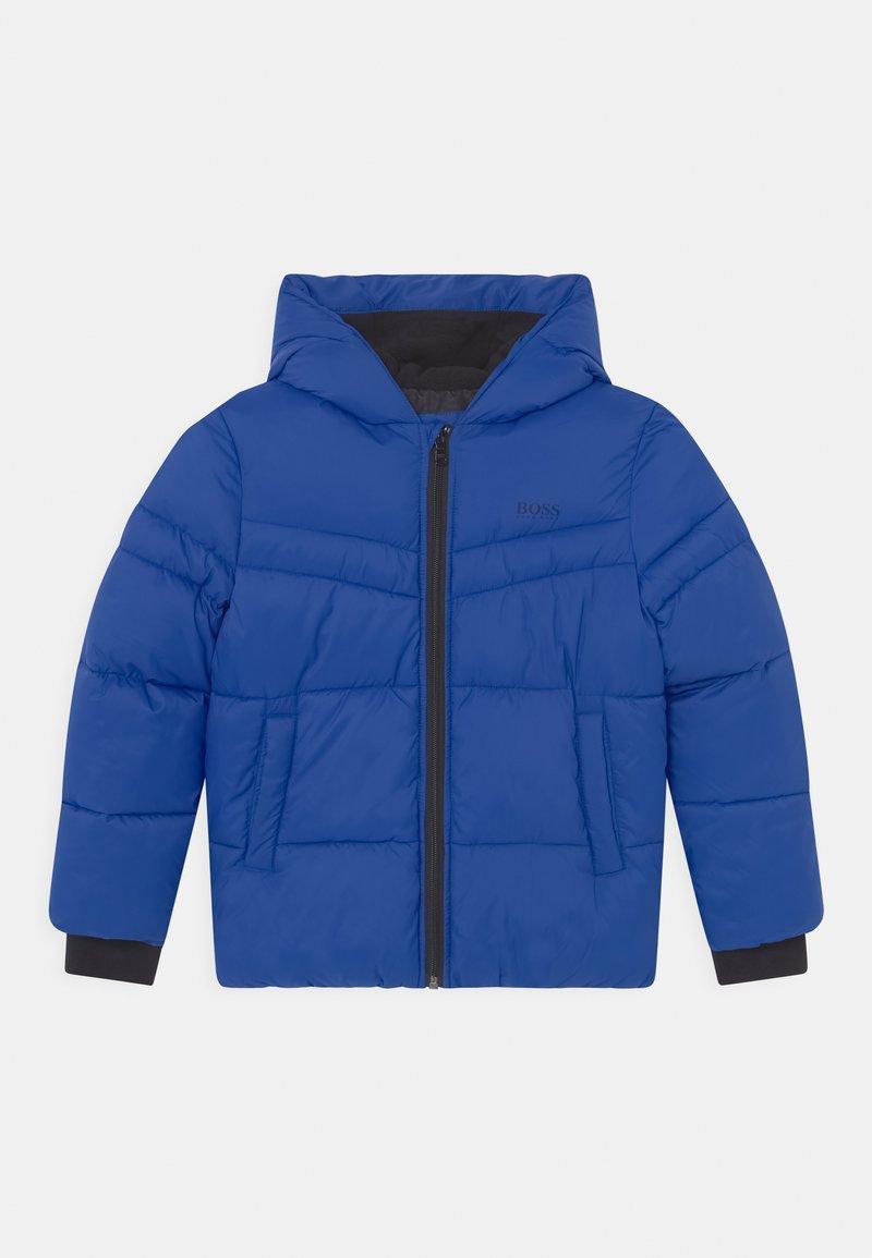 BOSS Kidswear - PUFFER - Zimní bunda - wave blue