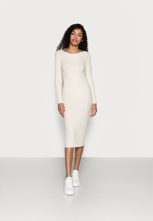 YASVERONICA MIDI DRESS  - Shift dress - eggnog