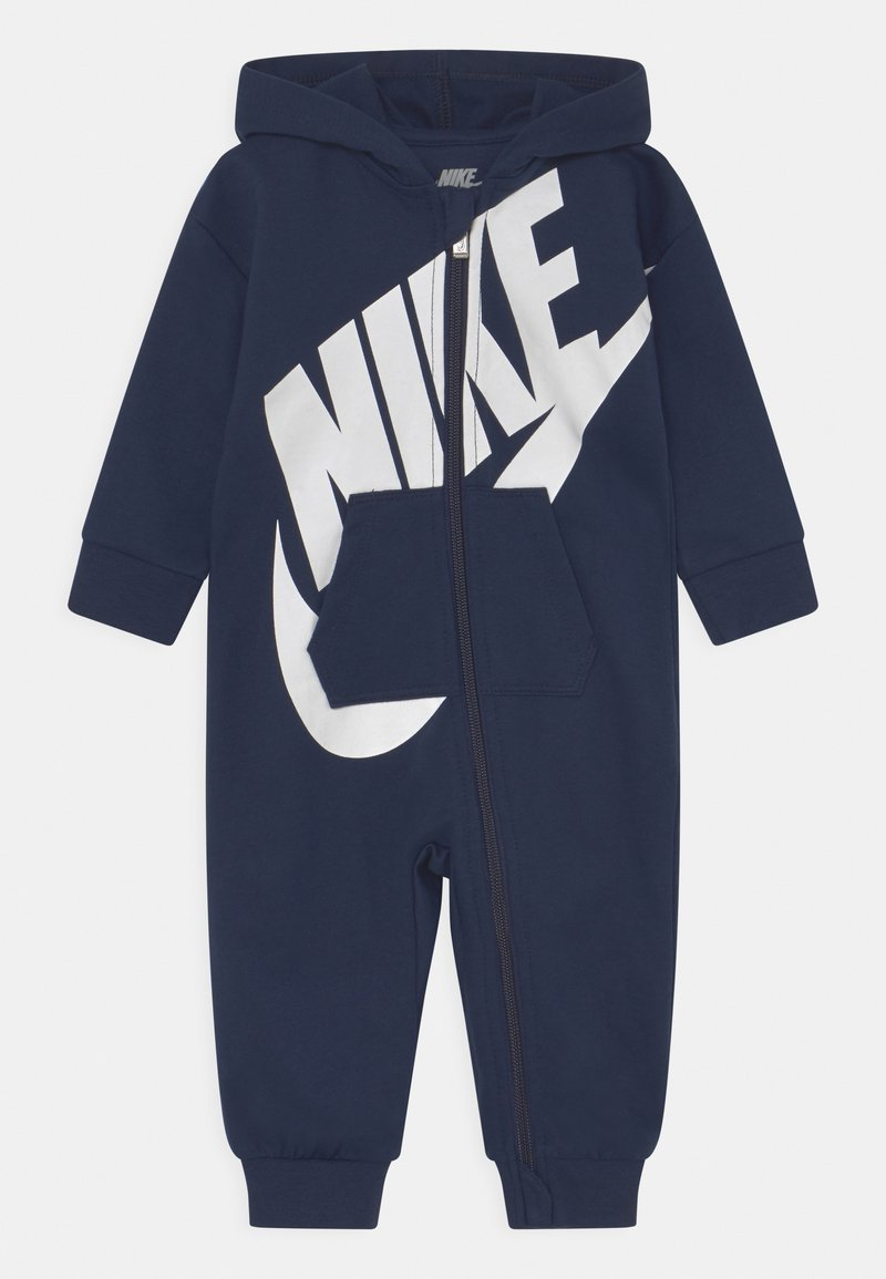 Nike Sportswear - ALL DAY PLAY COVERALL UNISEX - Jumpsuit - obsidian