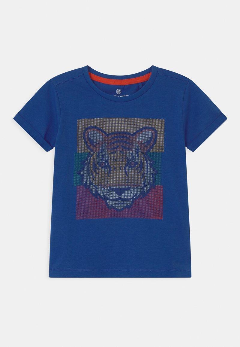 Lemon Beret - SMALL BOYS  - Print T-shirt - nautical blue