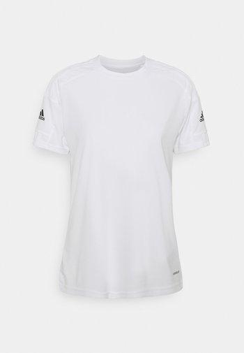 SQUADRA 21 - T-shirt con stampa - white/white/black