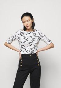 Lauren Ralph Lauren - Long sleeved top - white/polo black - 0