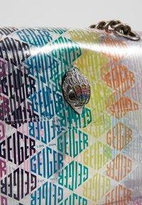 Kurt Geiger London - TRANSPARENT KENSINGTON BG - Across body bag - multi-coloured - 2