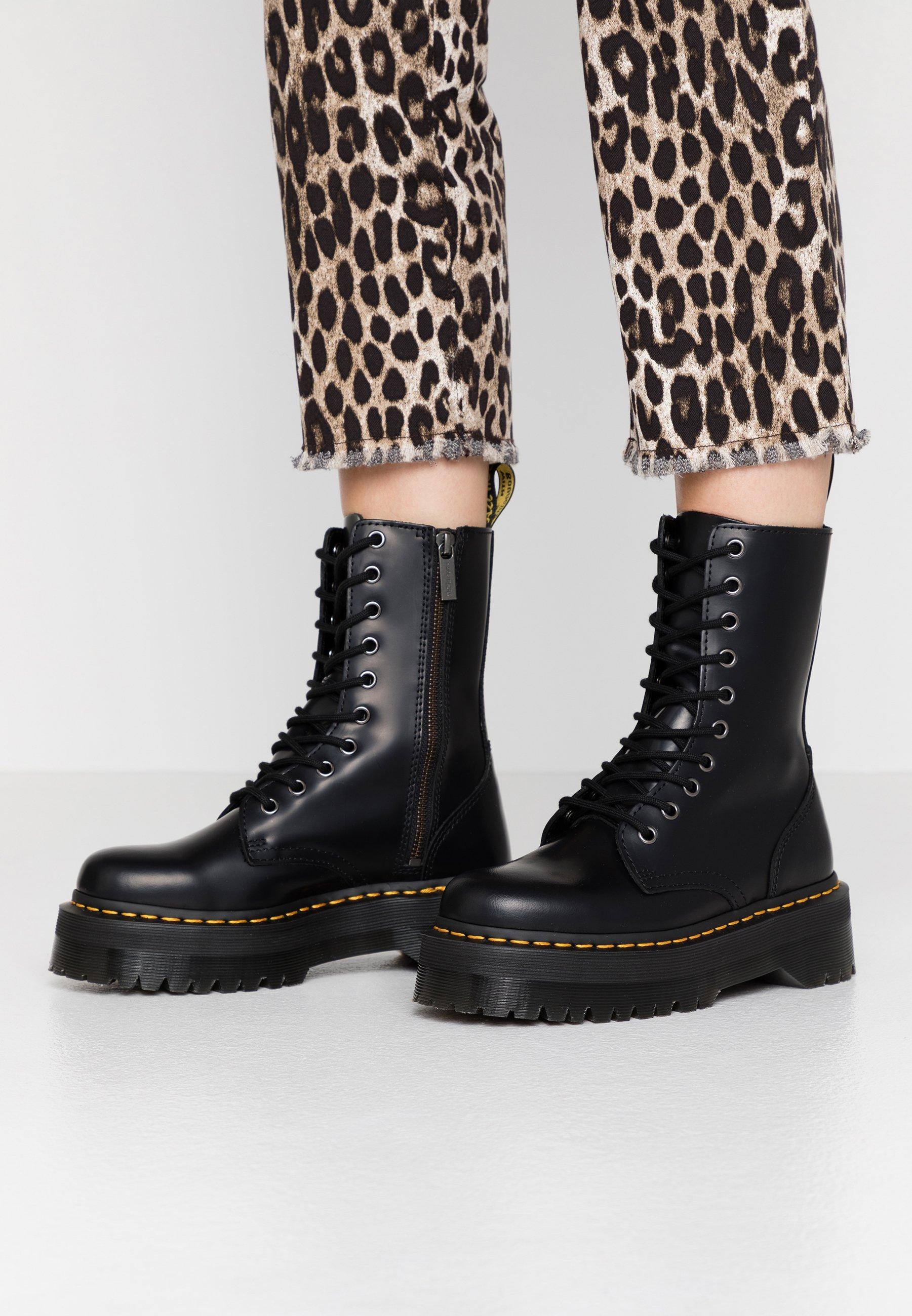 Women JADON HI - Platform ankle boots - black