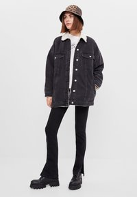 Bershka - Denim jacket - black - 1