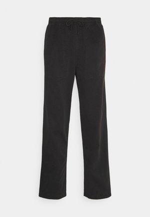 CANKTON - Spodnie materiałowe - black