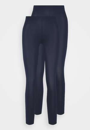 2 PACK - Leggings - dark blue