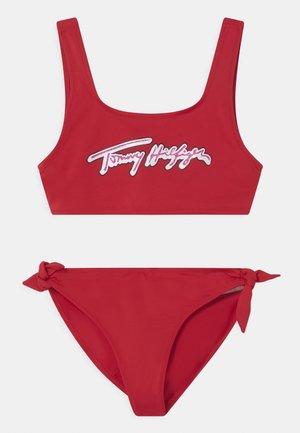 SET - Bikini - primary red