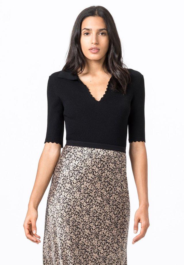 BOGENKANTEN - Sweater - schwarz