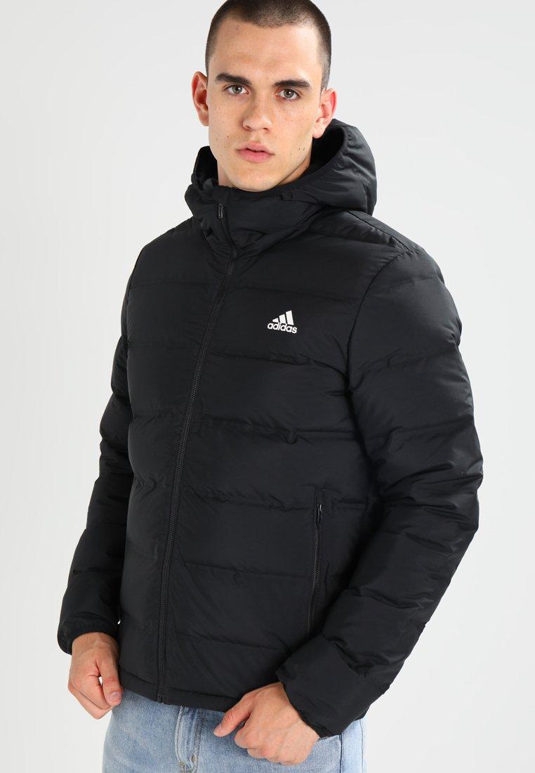 adidas Helionic Hooded Down Jacket Black | adidas Deutschland
