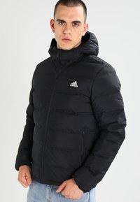adidas Performance - HELIONIC DOWN JACKET - Winter jacket - black - 0
