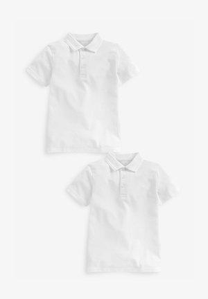 2 PACK - Polo shirt - white