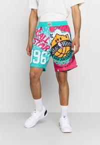 Mitchell & Ness - NBA ALL STAR SHORT - Sports shorts - green/grizzlies teal - 0