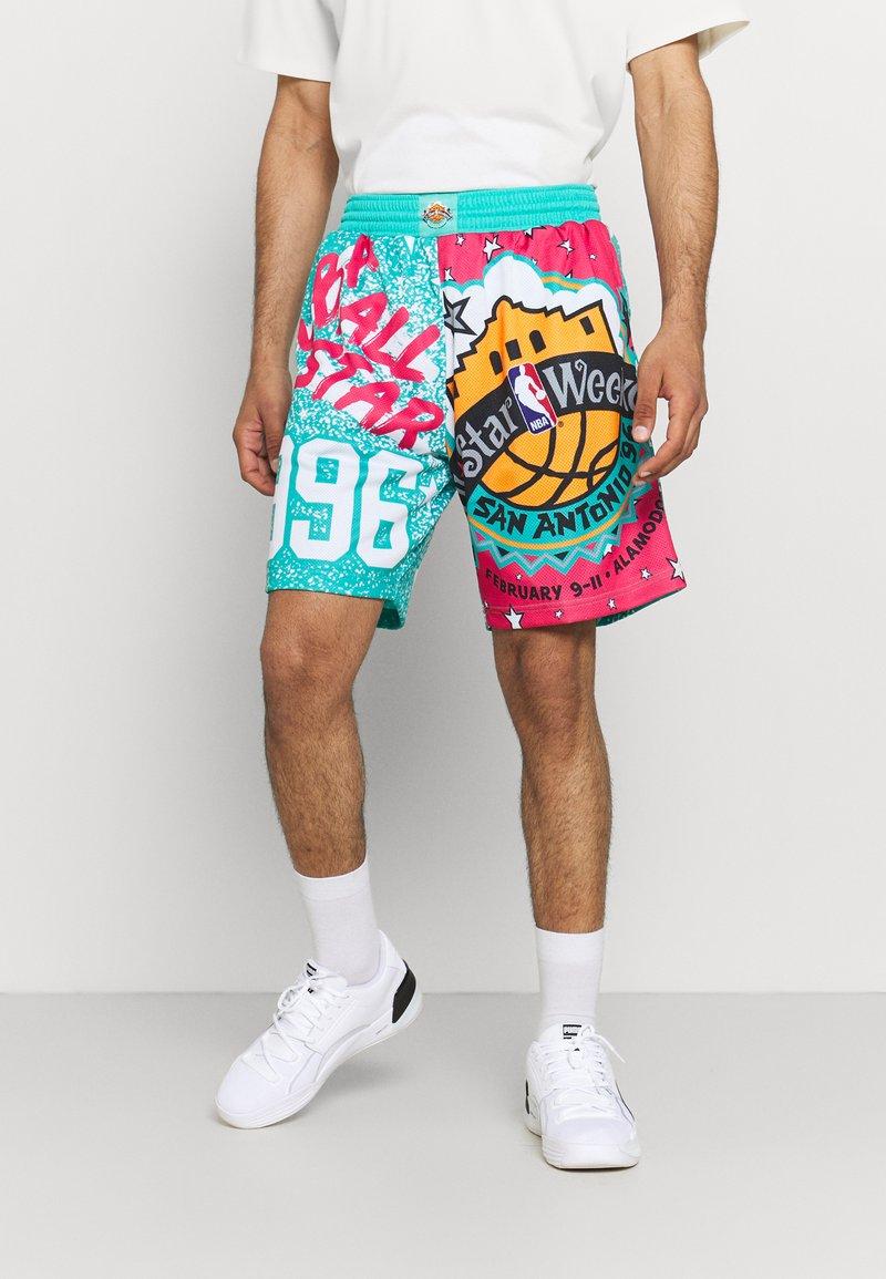 Mitchell & Ness - NBA ALL STAR SHORT - Sports shorts - green/grizzlies teal