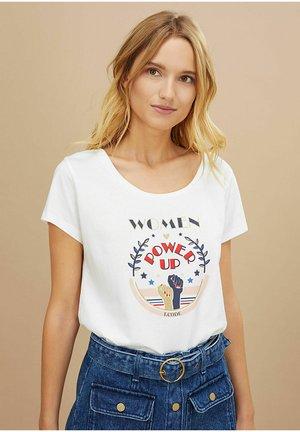 T-shirt print - power up